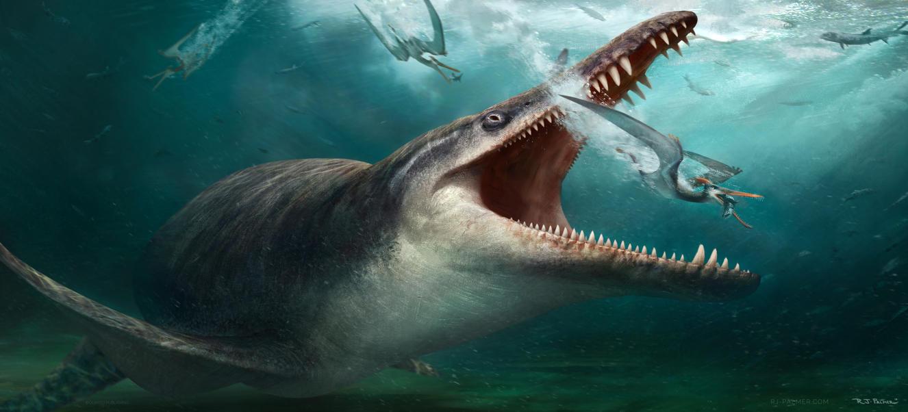 Kronosaurus by arvalis