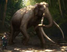 Palaeoloxodon namadicus by arvalis