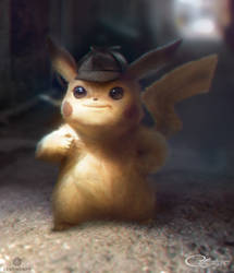 Detective Pikachu by arvalis