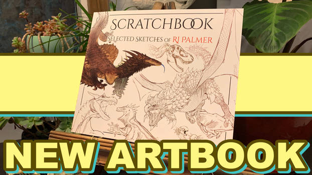 Scratchbook - Selected Sketches of RJ Palmer