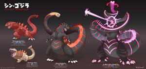 Pokemon x Shin Godzilla