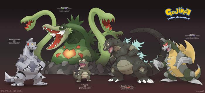Pokemon x Godzilla