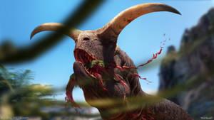 Meat-Eating Bull