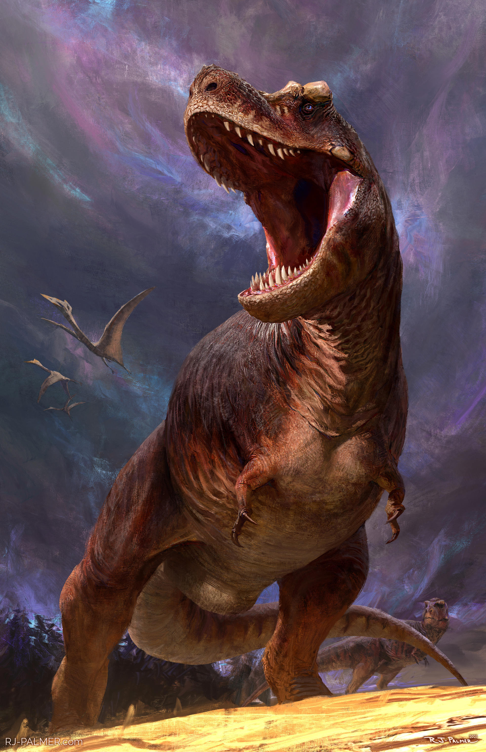 Beasts of the Mesozoic T. rex