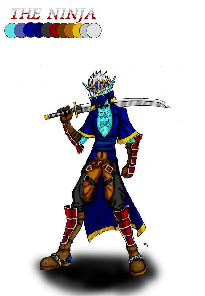 The Ninja by arvalis