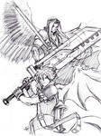 FFVII: The Angel and the Blade