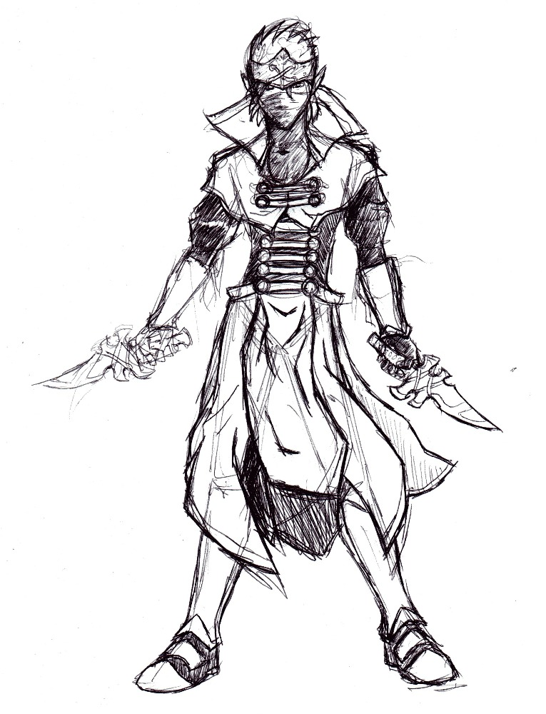 Arkus masked assassin by arvalis on deviantart for Ro draw