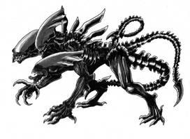 Alien Cerberus Colors by arvalis