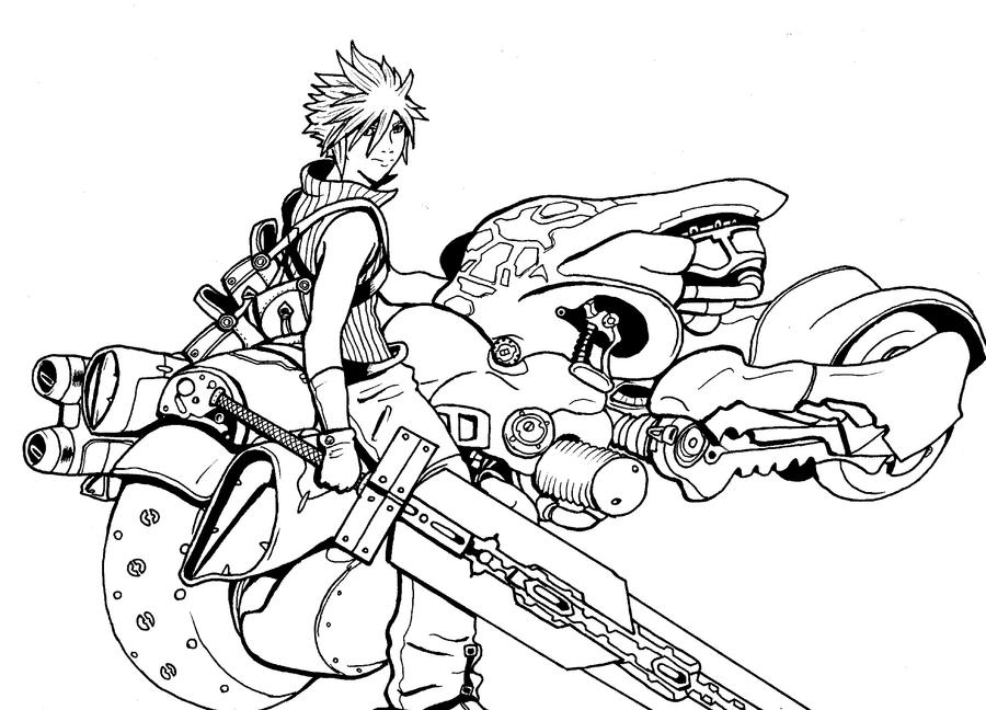 Cloud and Fenrir 2 by arvalis