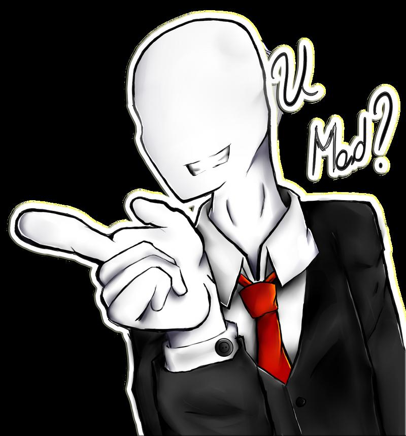 Slender Man !!! by h0ldm4litfupny