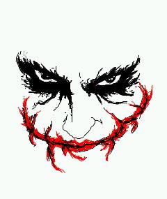 Do you ever smile in photos Joker Smile Png