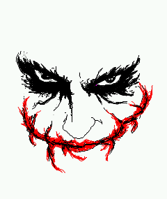 The Joker - The Dark Knight by manju1988max on DeviantArt Joker Smile Png