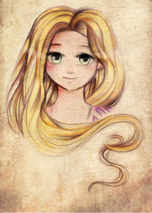 Rapunzel by Tajii-chan