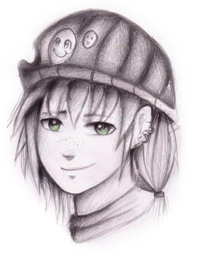 Sketch: Cosplayer by Tajii-chan