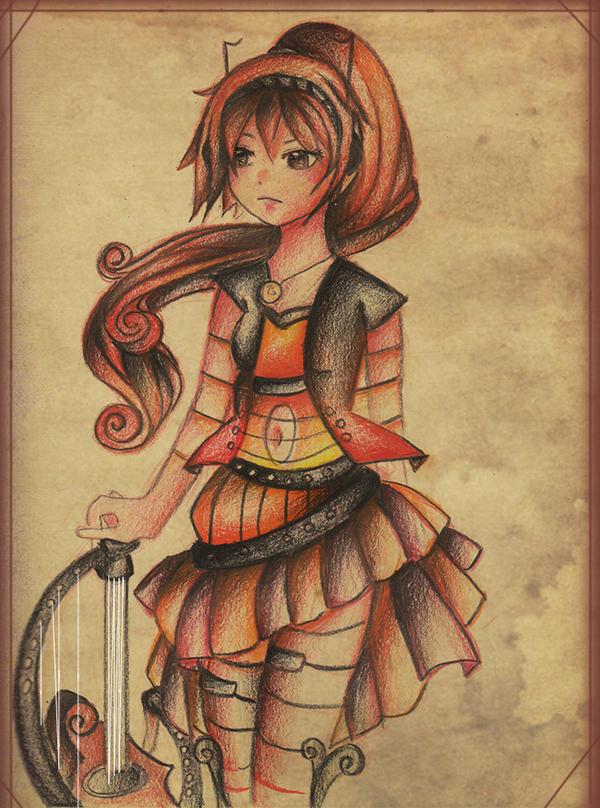 Harper Heart by Tajii-chan