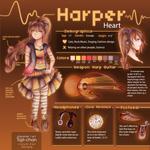 Harper Heart Character Sheet