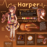 Harper Heart Character Sheet by Tajii-chan