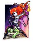 Heroes III - Armageddon's Blade Chibi Menu theme by monstee