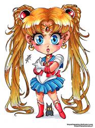 Sailor Moon Chibi Fanart