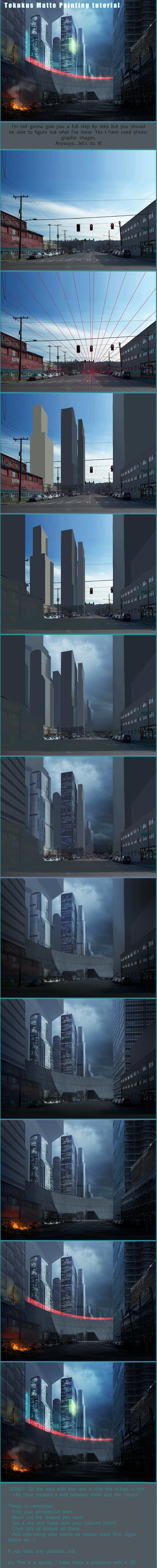 Matte Painting Tutorial by tokuku