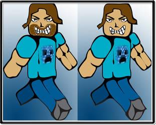Minecraft Steve by Suicidal69er