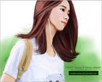 120703 Yoona Snsd Digital Painting
