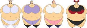 Fat Bikini Gym Leaders