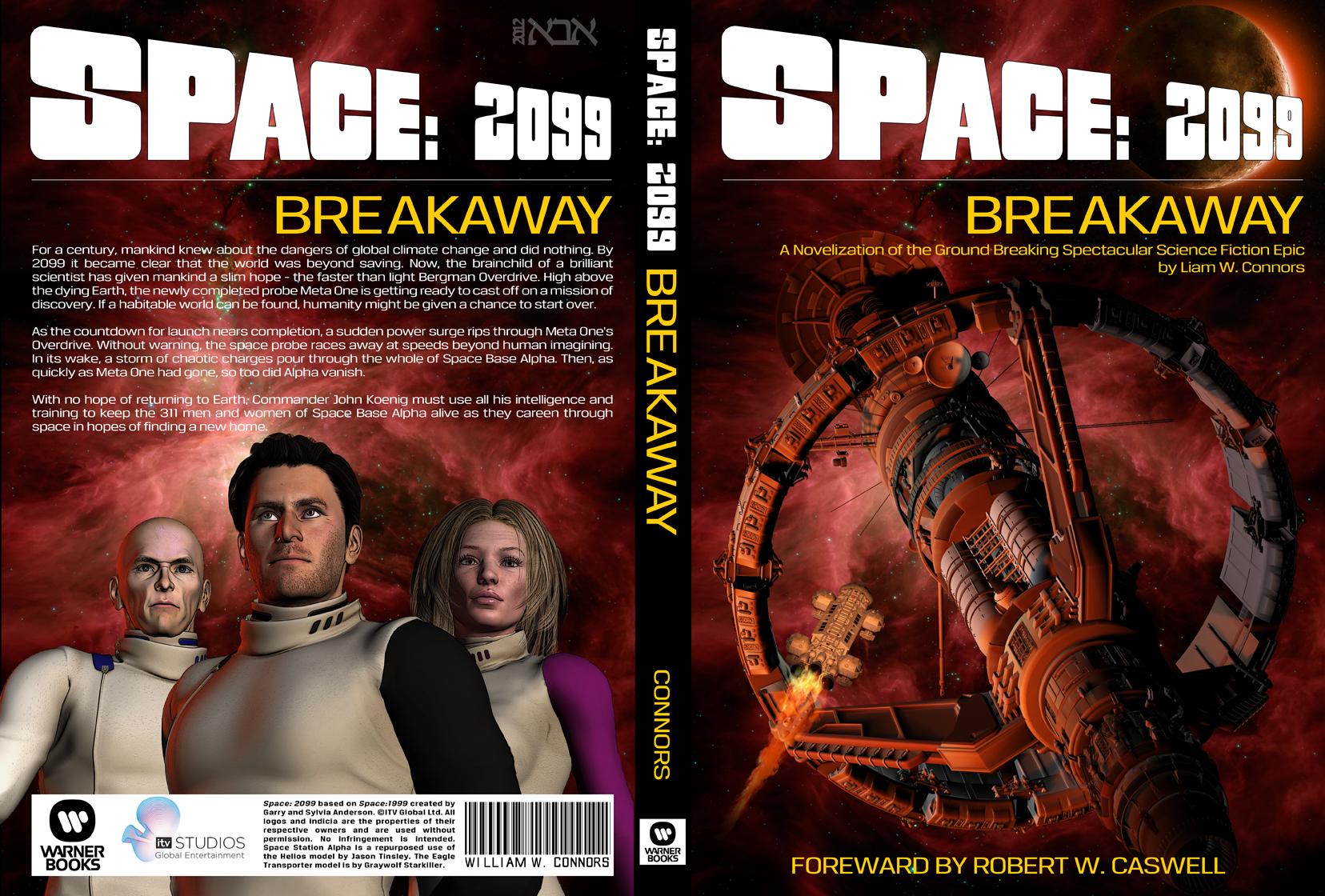 Space: 2099 01 Breakaway by AbaKon