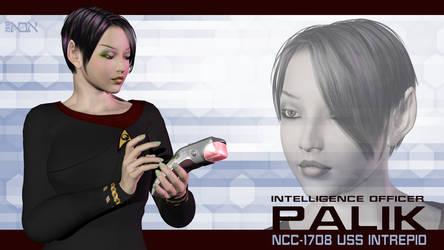 Intel Officer Palik by AbaKon
