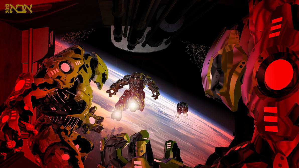 Starship Troopers - Drop Zone by AbaKon on DeviantArt