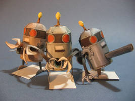 Fruit robot group shoot