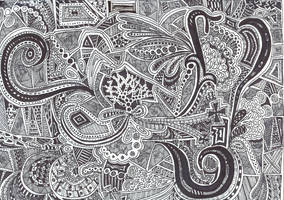Another Zentangle by Imprensibilis
