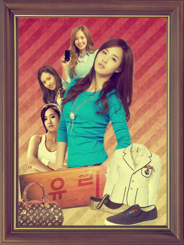 SNSD Collage : Yuri by GraPHriX