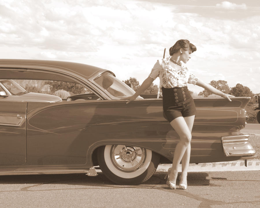 pin girls and cars - photo #36