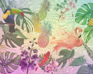 Tropical Paradise by Vantik