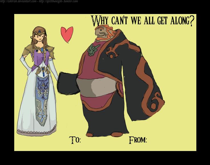 Zelda X Ganon Valentineu0027s Day By Ishtrish ...