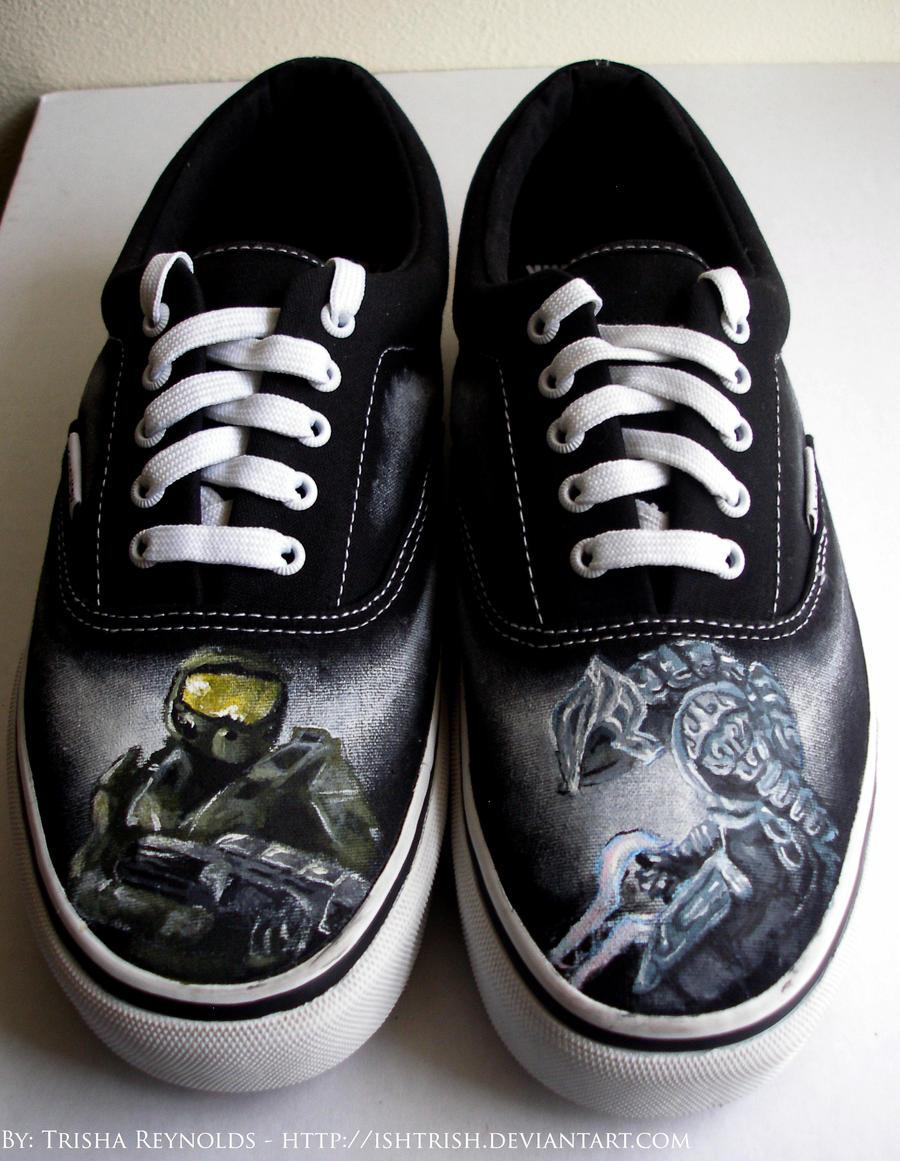 Halo Shoes by ishtrish