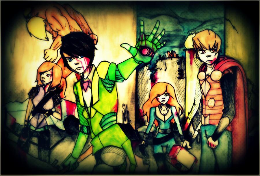 Thneedville's Avengers. by EA-Senpai