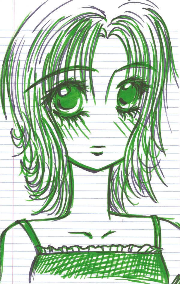 Green Blush by ticklemepink33