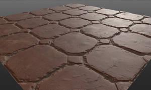 Testing Quixel Mixer: Brick Floor 02