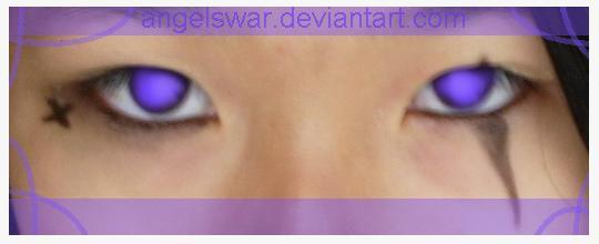 my purple eyes xD by angelswar