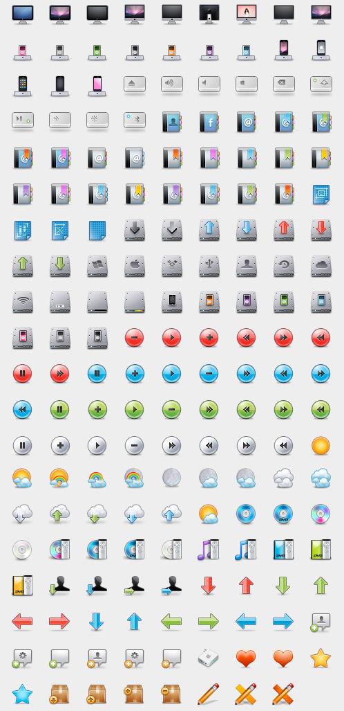 32px mania iconset by DDrDark