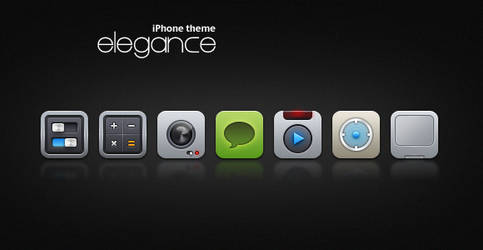 elegance - iphone theme updted by DDrDark