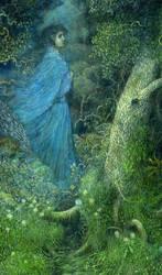 The Lady In Blue by Polasko