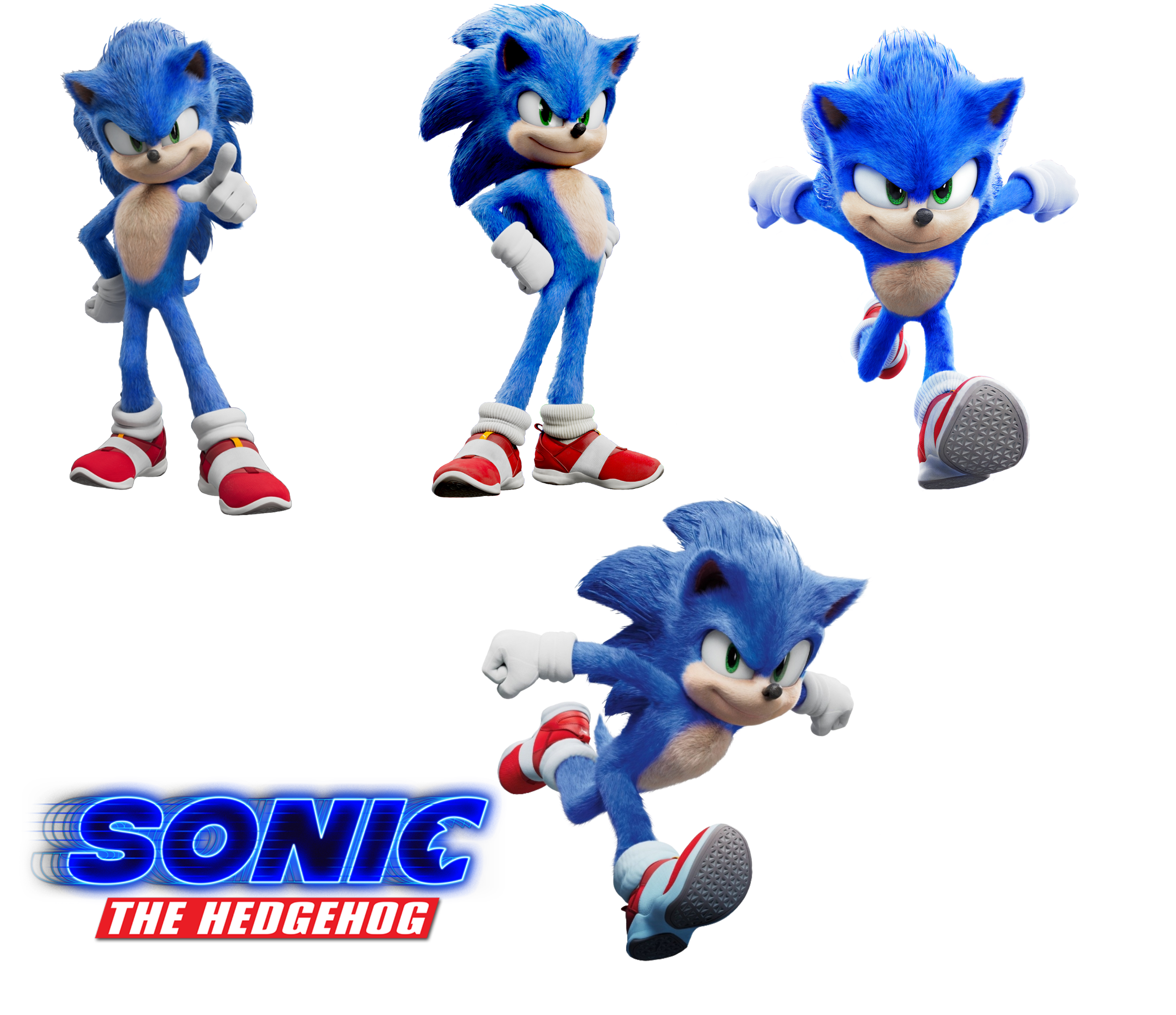 Sonic Movie Artwork Renders Pack By Theroyaldoodlebob On Deviantart