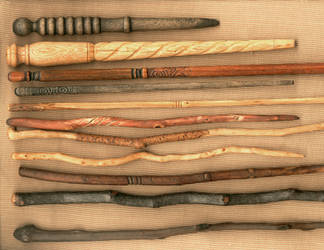 Ten More Wands by DonSimpson