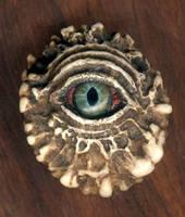 Antler Eye Pendant X-5 by DonSimpson