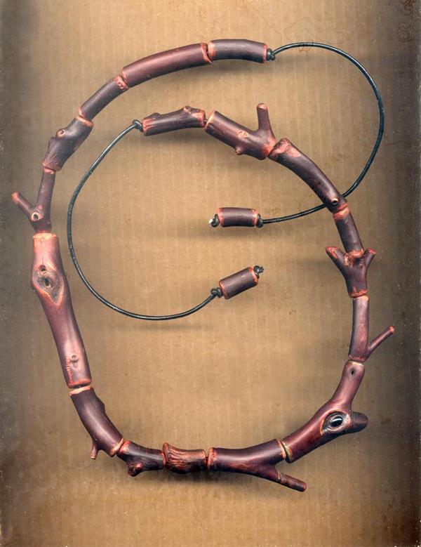 Manzanita Bead Necklace