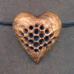 Honeycomb Heart Rattle