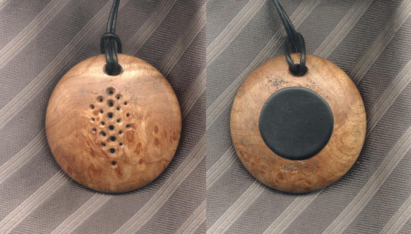 Maple Burl Rattle by DonSimpson